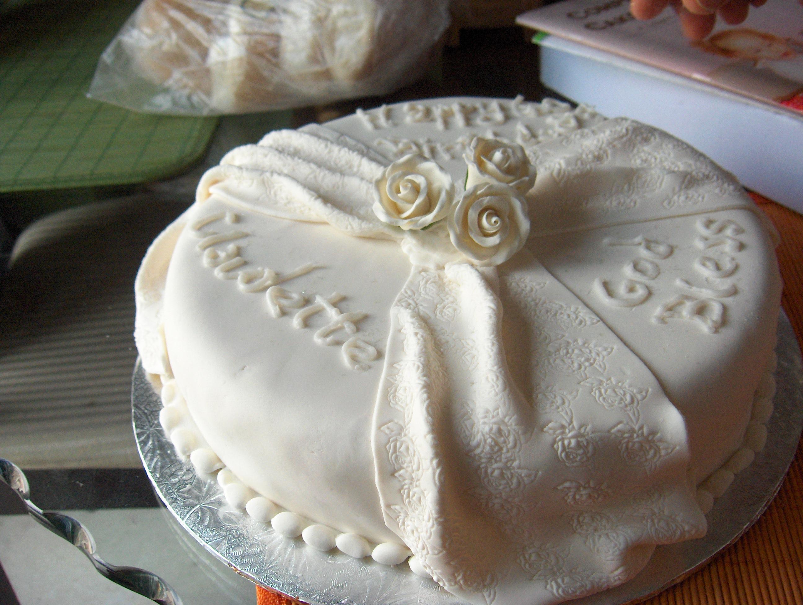 Jamaican Rum Birthday Cake